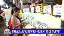 NEWS: Palace assures sufficient rice supply