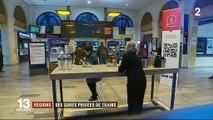 Grève SNCF : des gares privées de trains en région