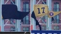 Cette équipe de baseball a voulu dévoiler son nouveau drapeau mais rien ne s'est passé comme prévu