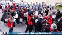Grèves : les cheminots marseillais déterminés, les usagers s'organisent