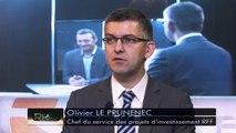 """LA REVUE : La revue : Olivier le Prunenec/chef des projets d'investissement RFF/""""Vigirail"""""""