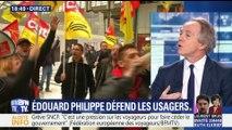Réforme de la SNCF: Édouard Philippe adresse son soutien aux usagers lésés par la grève