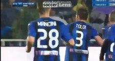 Rafael Toloi Goal HD - Atalanta 1-1 Sampdoria 3.04.2018