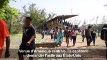 """Migrants: la """"caravane"""" qui fait enrager Trump est au Mexique"""