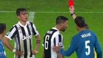 Dybala red card vs Real Madrid | Juventus vs Real Madrid