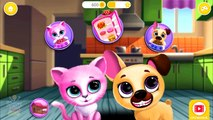 Fun Pet Care - Bath Time, Coloring Nails, Feed - Cute Kitty & Puppy Care Fun Kids Games