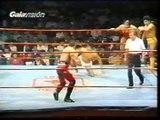Javier Cruz/Javier Rocca/Gran Cochisse vs Super Astro/El Dandy/Magico (CMLL 1989)