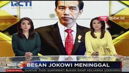 Besan Presiden Jokowi Meninggal