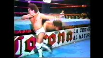 Dandy vs Emilio Charles Jr (CMLL July 28th, 1989) (hair vs hair)