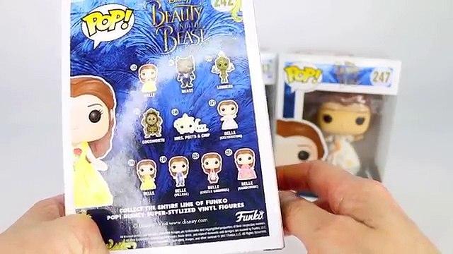 Disney FUNKO POP! Beauty & The Beast Live Action UNBOXING & REVIEW   Belle (Celebration) & Beast
