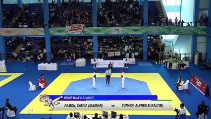 PON 2018 - TAEKWONDO - SUMATRA BARAT vs KALIMANTAN TIMUR