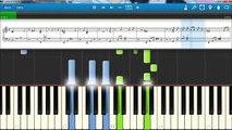 Lana Del Rey - Born to Die - piano lesson piano tutorial