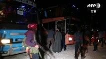 إجلاء مقاتلين ومدنيين من الغوطة الشرقية  إلى شمال حلب
