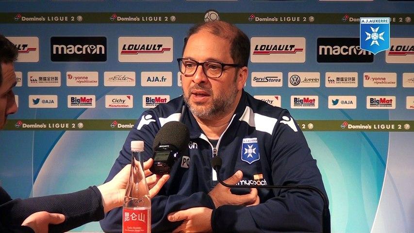 Conférence de presse de Pablo Correa avant GFCA - AJA