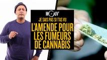Je sais pas si t'as vu... L'amende pour les fumeurs de cannabis #JSPSTV