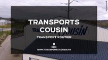 Transports Cousin, transport de matériaux et transport par bennes dans la Manche.