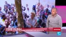 """Fils de Sophie Pétronin, otage au Mali : """"Je pense que ma mère est vivante"""""""