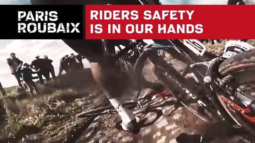 Paris-Roubaix 2018 - Seguridad de los ciclistas