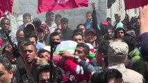 Nella Striscia di Gaza i funerali dell'ultimo palestinese ucciso