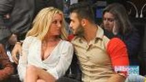 Britney Spears' Boyfriend Shares 'Woman Crush Everyday' Instagram Post | Billboard News
