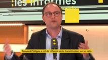 """Réforme constitutionnelle : """"La moyenne européenne est de 1 représentant pour 40 000 citoyens tandis qu'en France, elle est de 1 pour 70 000. Est-ce qu'il fallait vraiment baisser ? """", questionne Éric Delannoy #lesinformés"""