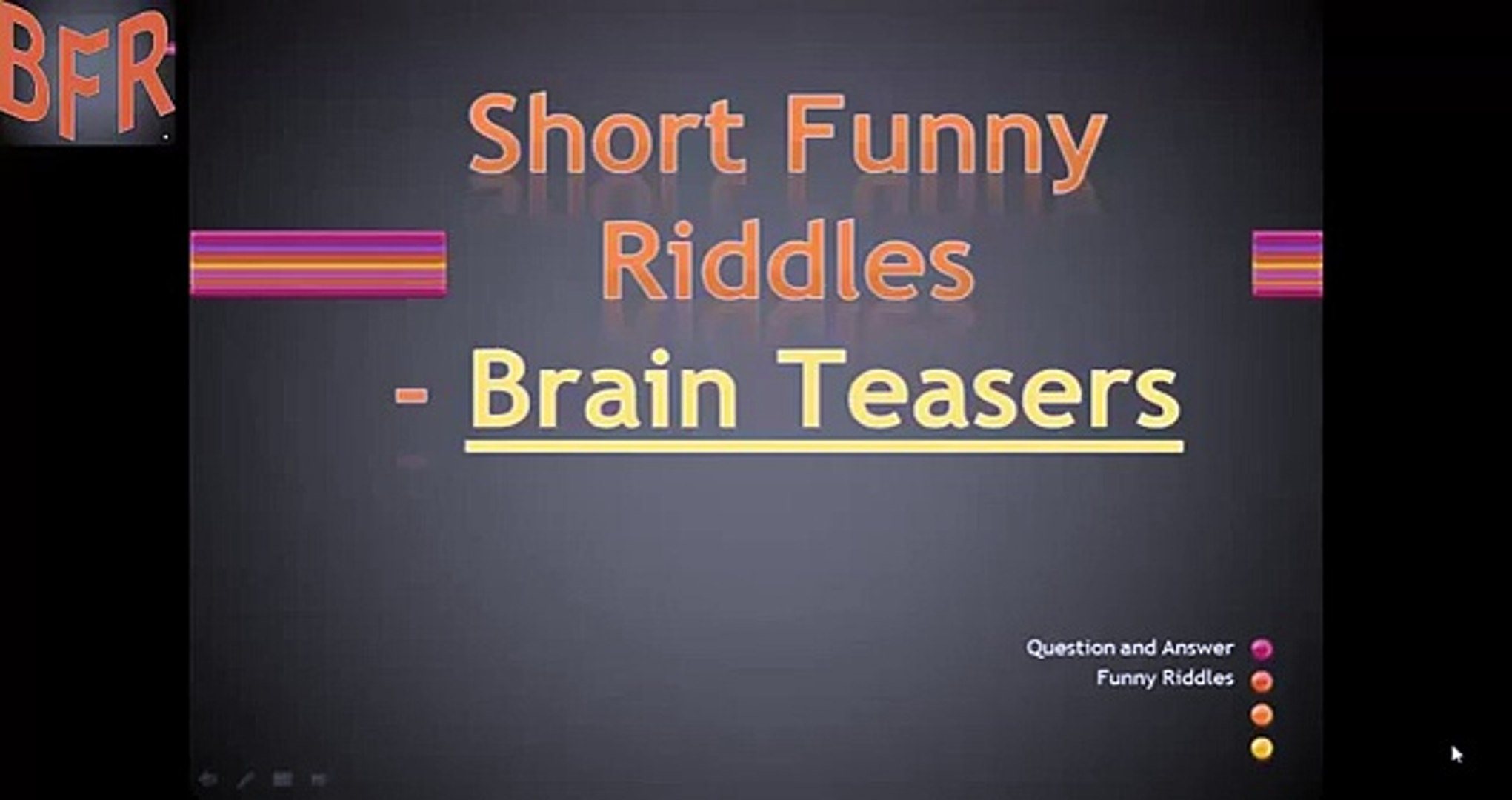 Funny brain teasers with answers