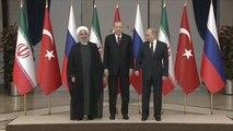 قمة أنقرة تؤكد التزامها بوحدة سوريا والحل السياسي