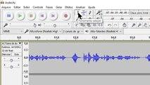 TUTORIAL COMO USAR O AUDACITY | Para iniciantes | Como gravar áudio/narração e fazer cortes