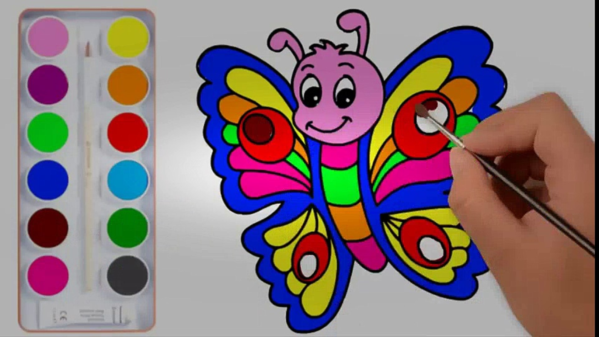 Colour Drawing For Kids