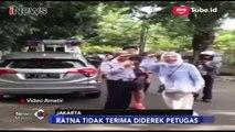 Video Ratna Sarumpaet Marah-Marah Saat Mobilnya Diderek Petugas Dishub