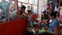 Central American Migrant Caravan Ends In Mexico City