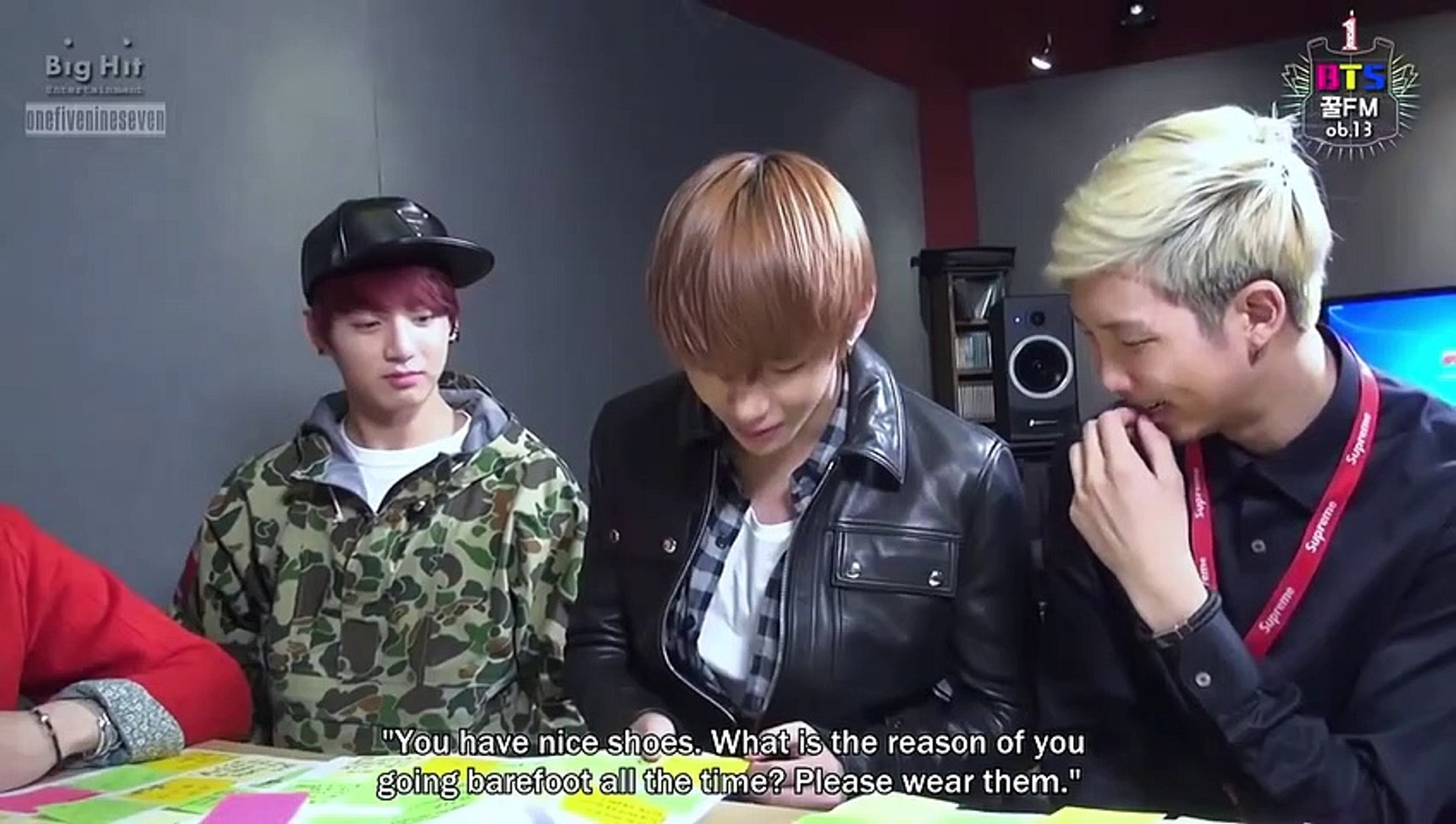 [Engsub] BTS COOL FM 06.13 - BTS 1st Birthday 'BTS Festa 2014' PART 1