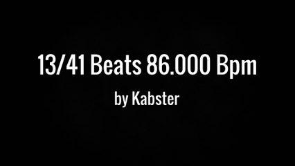 13/41 Beats - Random beats #19 - Kabster