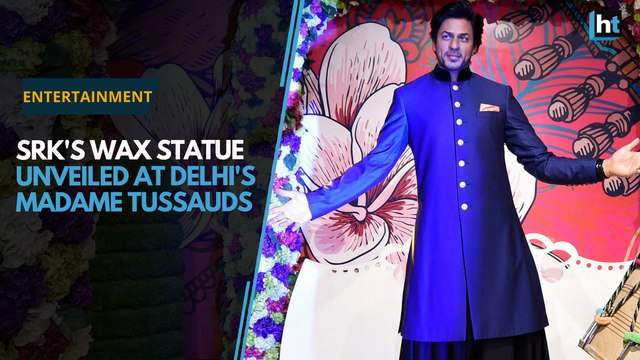 SRK's wax statue unveiled at Madame Tussauds
