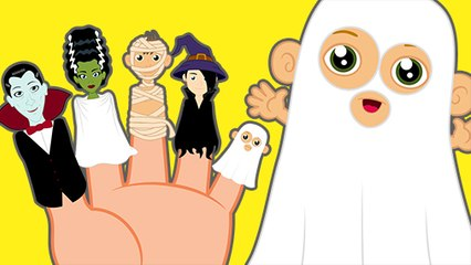 Finger Family with Halloween Family
