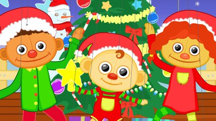 Jingle Bells with Puppet Family