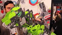 ROBOT DINOSAUR TOY Meccasaur TOY FAIR 2016 Build Your Own Robotic Dinosaur by Meccano
