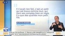 """""""Il n'avait rien fait, c'est un petit qui est brave"""", """"Mamie Rock"""" défend son petit fils Grégory Boudou"""