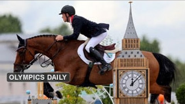Olympic show jumpers make history