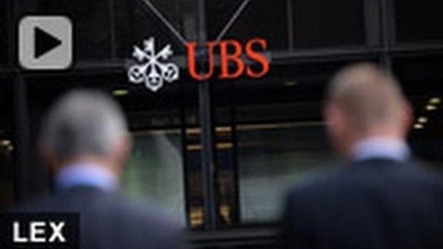 Despite UBS fine, shareholders loyal