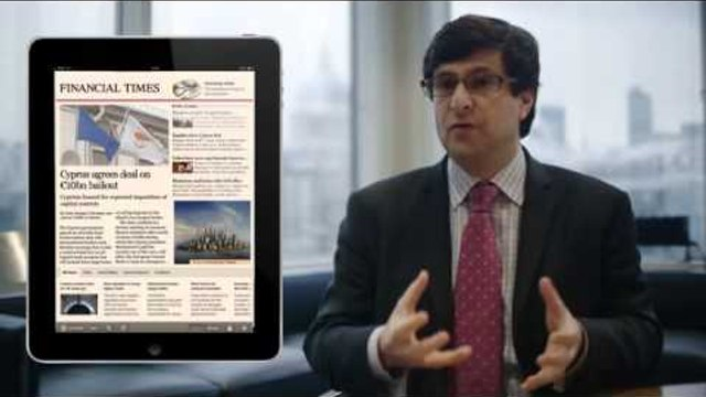The new FT web app for iPad