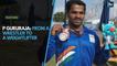 P Gururaja: From a wrestler to a weightlifter