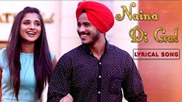Naina Di Gal | Kanika Mann | Vishal Ft. Daniel Dollar | New Punjabi Lyrical Song | Yellow Music