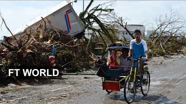Battle to reach Philippines victims
