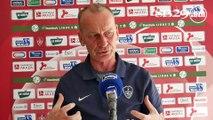 Brest - Valenciennes : conférence de presse d'avant-match
