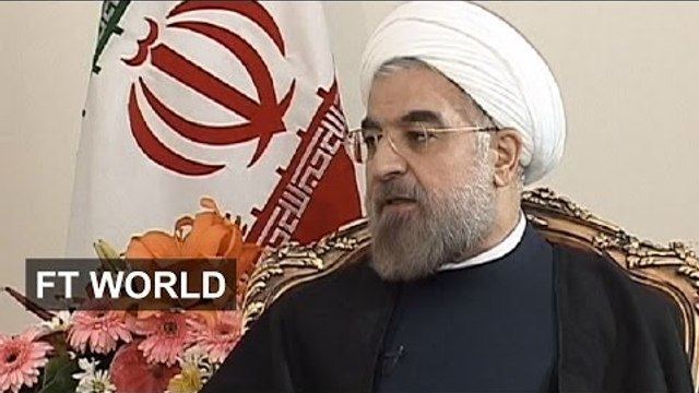 Rouhani and Lionel Barber on Iran deal