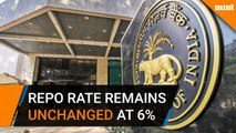 RBI keeps repo rate unchanged at 6 percent
