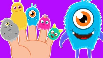 La Familia Dedo con Monstruos