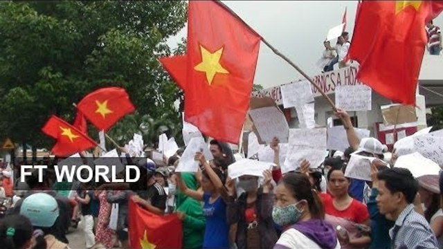 Vietnam's anti-China protests | FT World