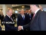 Putin and Poroshenko meet in Minsk